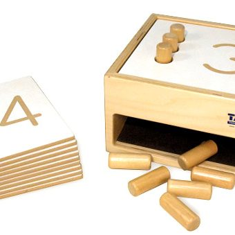 Tumble Down Counting Pegs