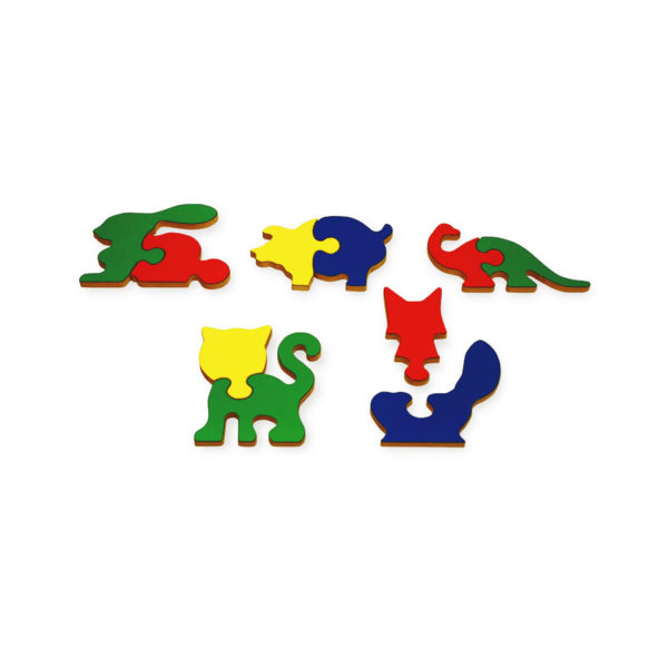 Animal Shapes Puzzle