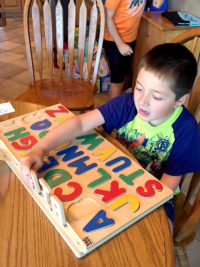 I Can Spell! Alphabet Puzzle