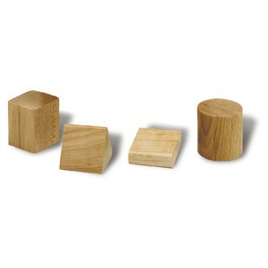 Complete Replacement Shapes for Hardwood Shape Sorting Cube